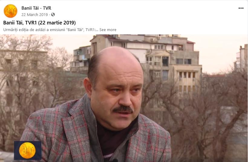 Emisiunea Banii Tai Blog Doru Dima