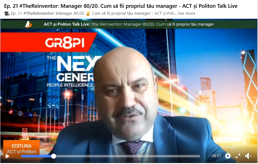 propriul tau manager Blog Doru Dima